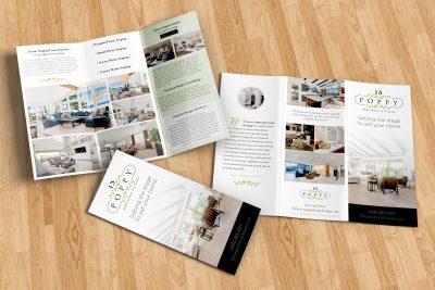 Print Design – 13 Poppy Brochure Design