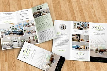 13 Poppy Brochure Design, Print & Collateral, Creative Writing