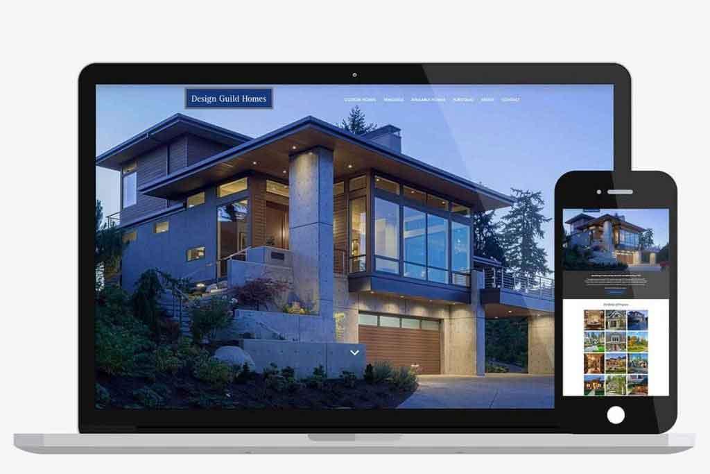 Design Guild Homes Website Design