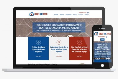 Website Design Educate Home Buyers