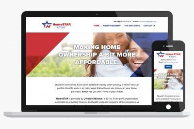 Website Design Homestar Grant