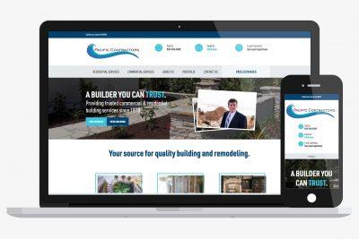 Website Design Pacific Contractors