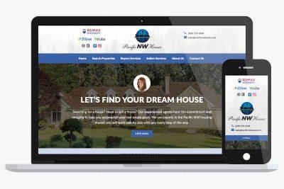 Website Design Pacific Northwest Houses