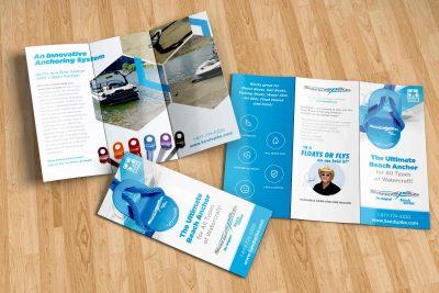 Sandspike Tri Fold Brochure Design