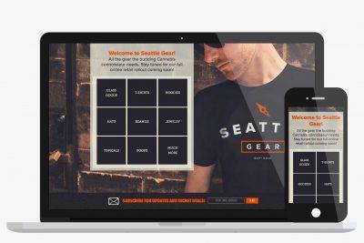 Website Design Seattle Gear