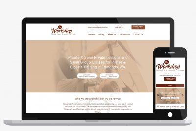Website Design The Workshop Edmonds