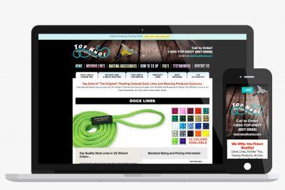 Website Design Top Knot