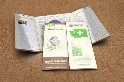 Print Design – Advanced Holistic Health Brochure