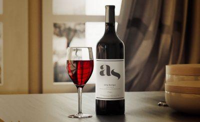 Print Design – Another Source Wine Label Design