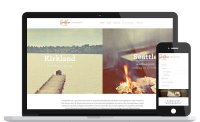 Website Design Beach House Bar + Grill