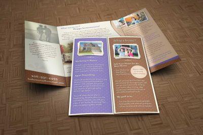 Print Design – Beth Traverso Real Estate Brochure