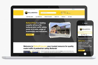 Website Design Bollard Pros