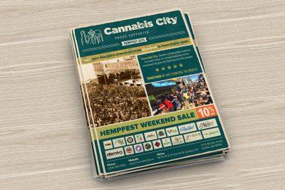 Print Design – Cannabis City Hempfest Poster