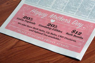 Print Design Cannabis City Magazine Ad