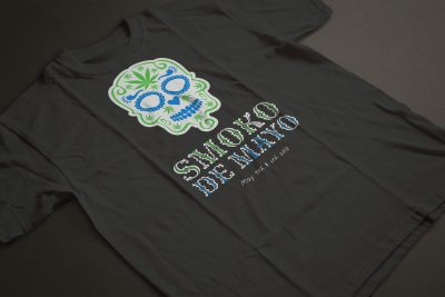 Print Design – Cannabis City Smoko De Mayo T-Shirt Design