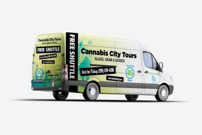 Truck Wraps Design Cannabis City Tours