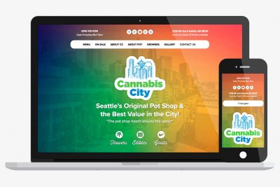 Website Design Cannabis City
