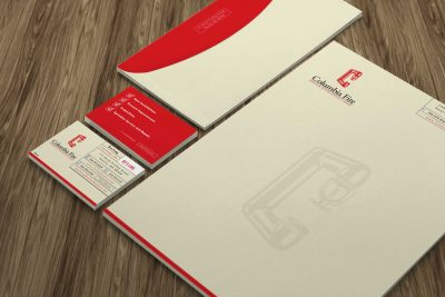 Stationery Design – Columbia Fire