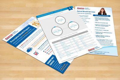 Print Design – Costco Health Solutions Brochure