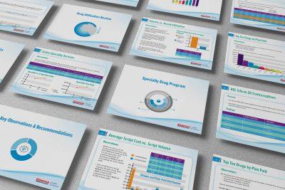 Print Design – Costco Health Solutions Power Point Brochure