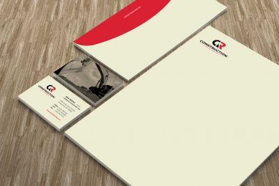 Stationery Design – CR Construction
