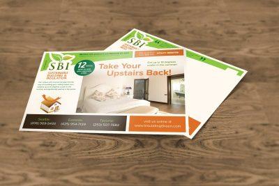 Print Design – SBI Postcard
