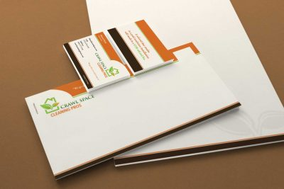 Stationery Design – Crawl Space Cleaning Pro