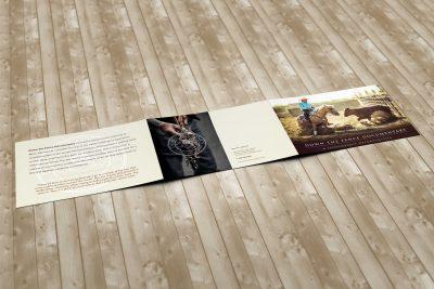Print Design – Down the Fence Documentary Brochure