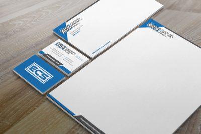 Stationery Design – ECS