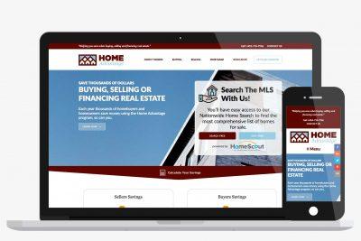Website Design Home Advantage
