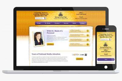 Website Design Interpersonal Edge