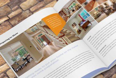Print Design – Jeff T. Dickinson Real Estate Services Brochure