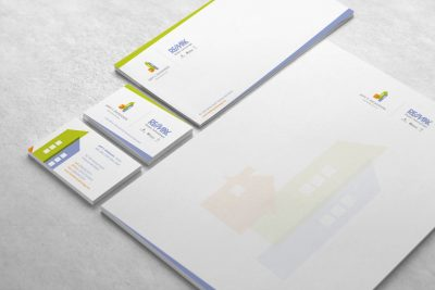 Stationery Design – Jeff T. Dickinson Real Estate Services
