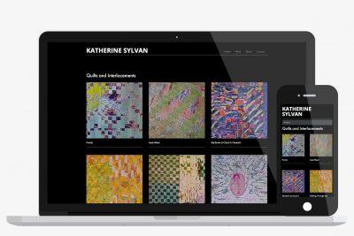 Website Design Katherine Sylvan