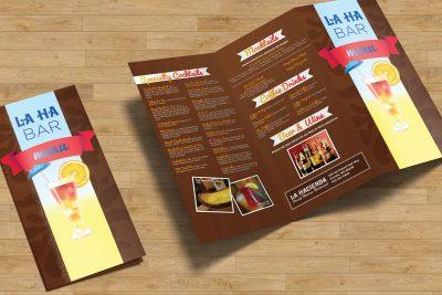 Print Design – La Hacienda Brochure