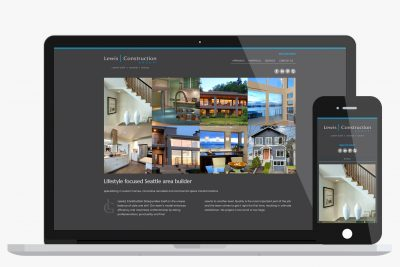 Website Design Lewis Construction Group