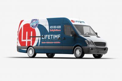 Truck Wraps Design Lifetime HVAC