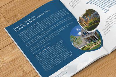 Print Design – Liz & Bruce Real Estate