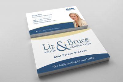 Business Card Design – Liz Nettles Real Estate