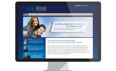 Website Design Mercer Island Dentistry