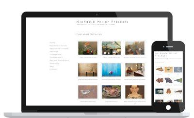 Website Design Michaele Miller