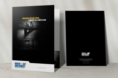 Print Design – North by Northwest Presentation Folder