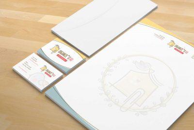 Stationery Design – Organize It 4U