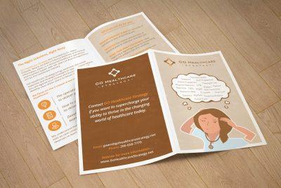 Print Design – Go Healthcare Brochure