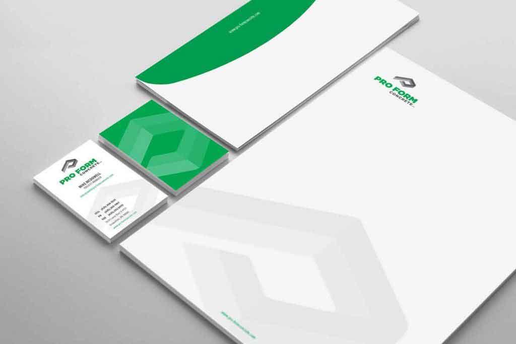 Pro Form Stationery Design