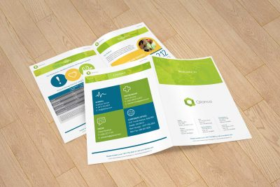 Print Design – Qliance Brochure