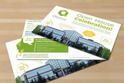 Print Design – Qliance Health Care Postcard 2