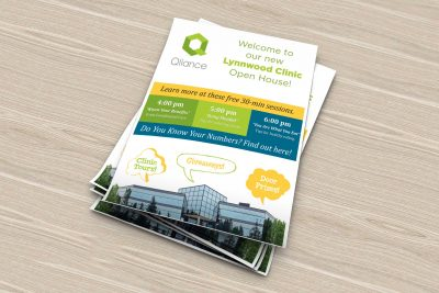 Print Design – Qliance Health Care Brochure