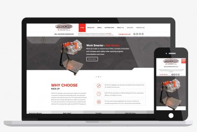 Website Design Rackup Equipment
