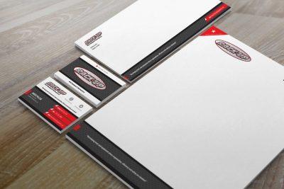 Stationery Design – Rack Up Equipment